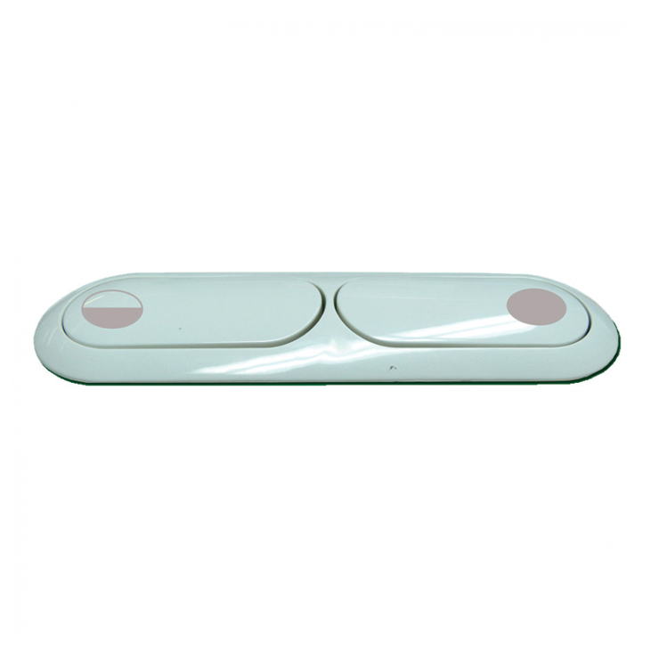 Fluidmaster Dual Flush Button Oblong 124x30mm