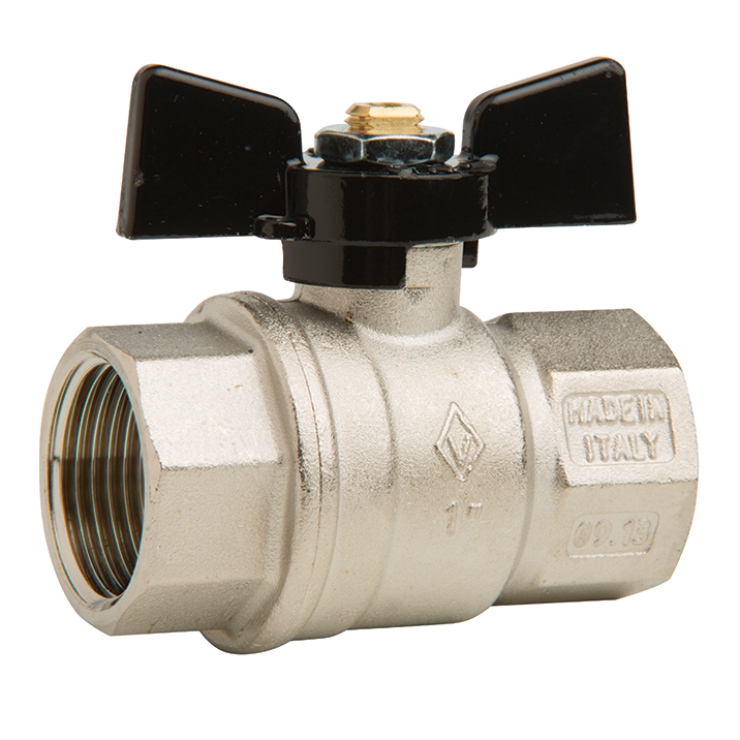 Bugatti Ball Valve Fem/Fem Short Handle