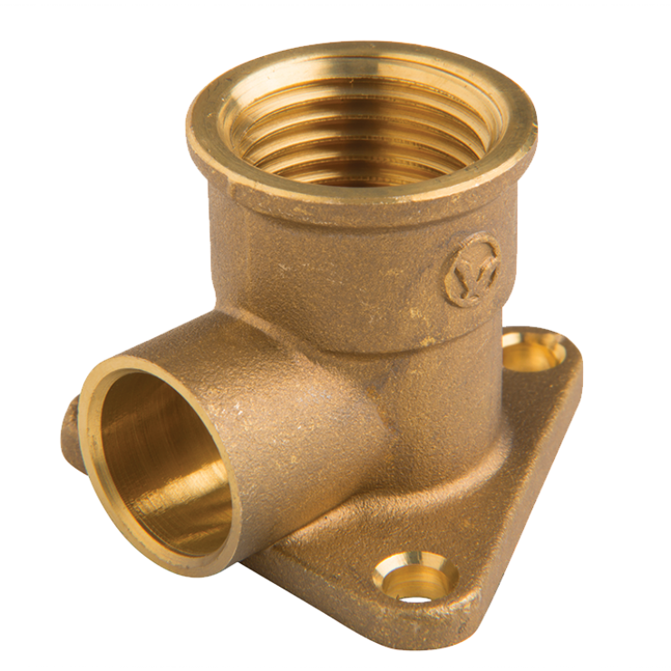 DZR Brass Crox Tee Male 25mm with 3 Nuts