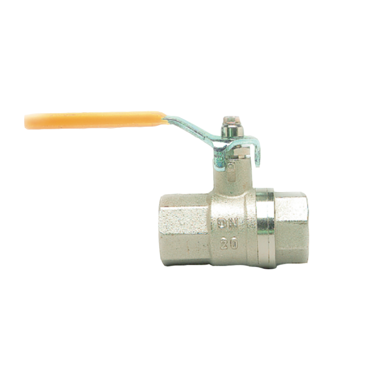 Gas Ball Valve Female Female Long Handle