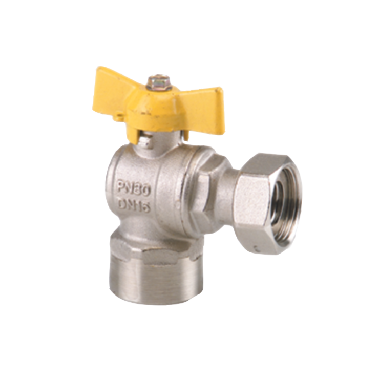 Gas Ball Valve Female Swivel Nut