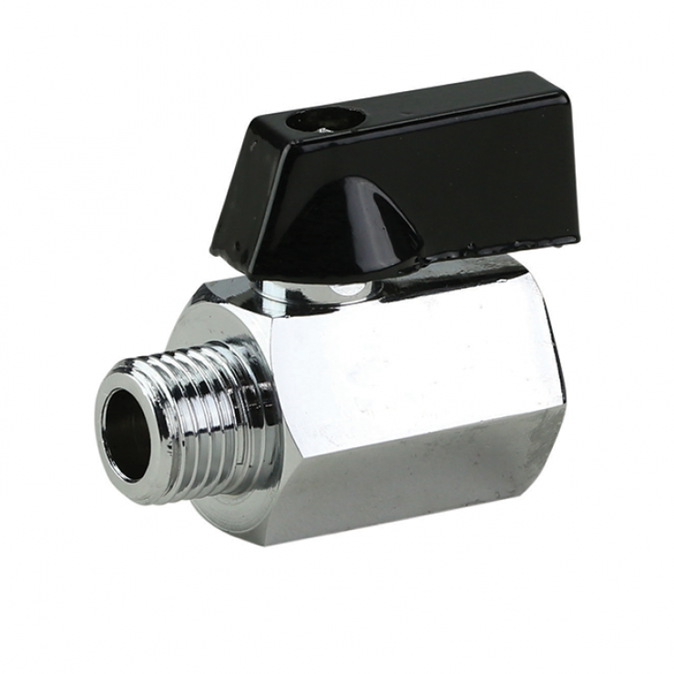 Mini Ball Valve  Elbow With Handle