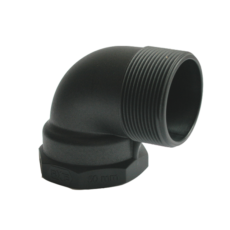 Threaded Male/Fem Elbow
