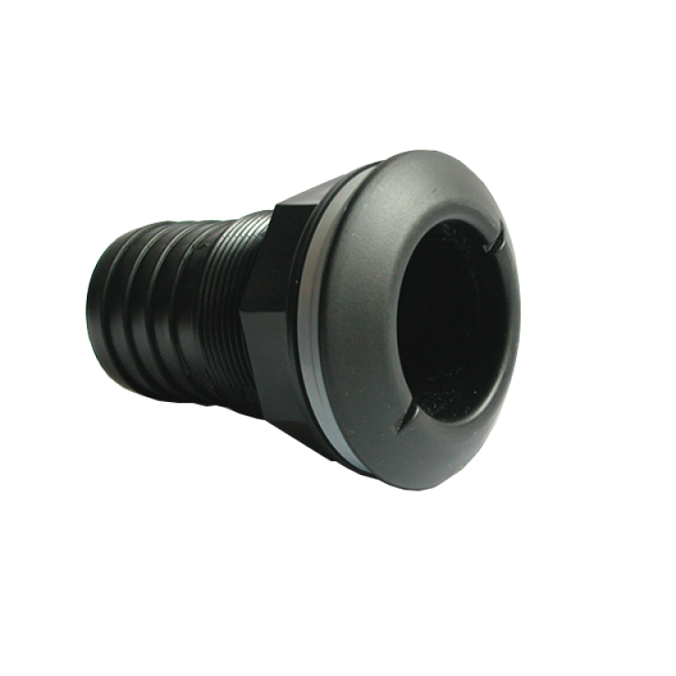 Threaded Tank Fitting Male Black 50mm
