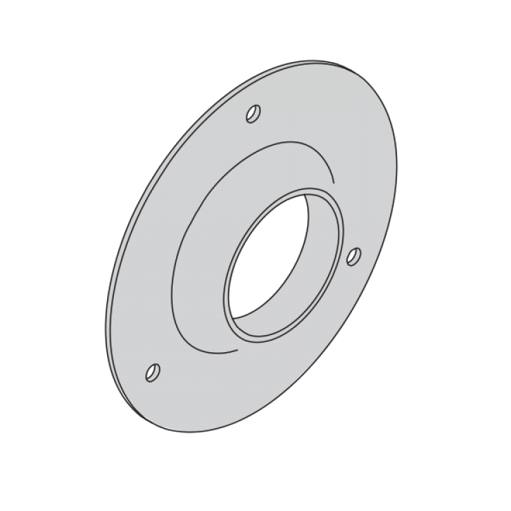 Hydropress Cover Flange