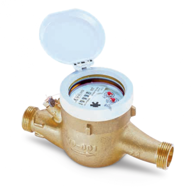 MTWD-M Multi-jet dry dial water meter for hot water